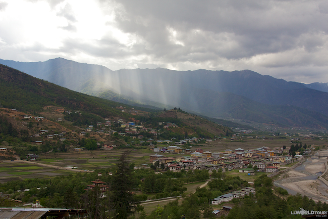 Valley in Bhutan