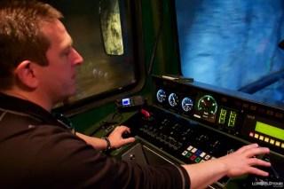 Swiss Rail Train Conductor