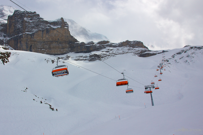 Swiss Ski Lift