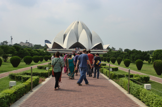The Lotus Temple