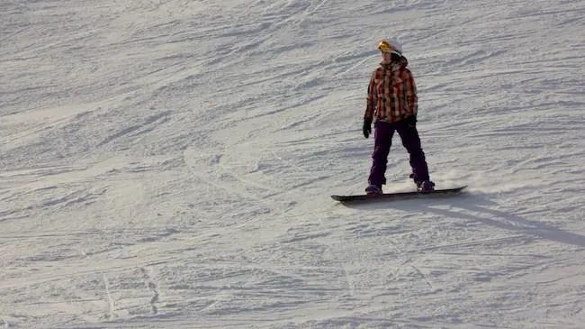 Snow Boarding Marmot