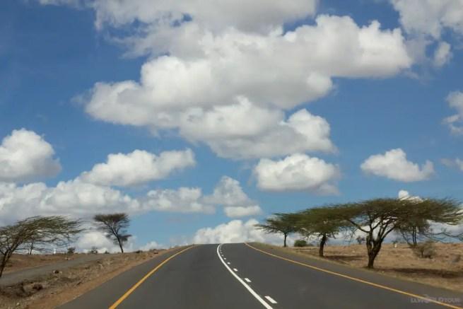 Drive to Tarangire