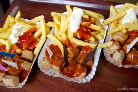 Berlin's traditional street food: Currywurst