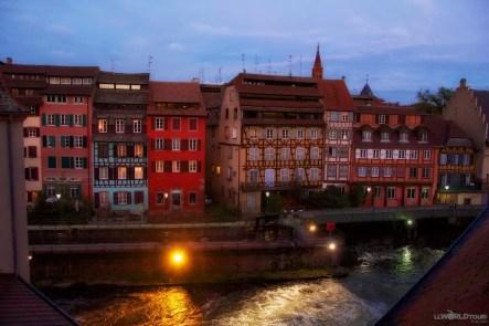 Ill River flows through town