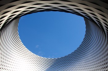 Convention center in Basel by Herzog & De Meuron