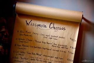 Wisconsin Cheese List