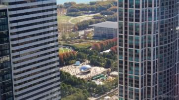 Millennium Park from Kemper Building