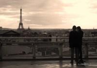 Eifel Tower from Galeries Lafayette