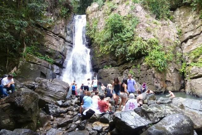 La Mina Falls El Yunque