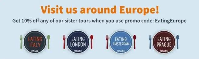 eating europe Food Tour