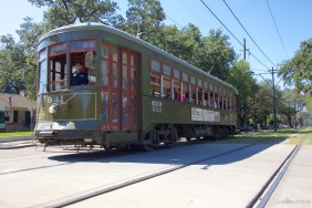 Trolley in the Garden District