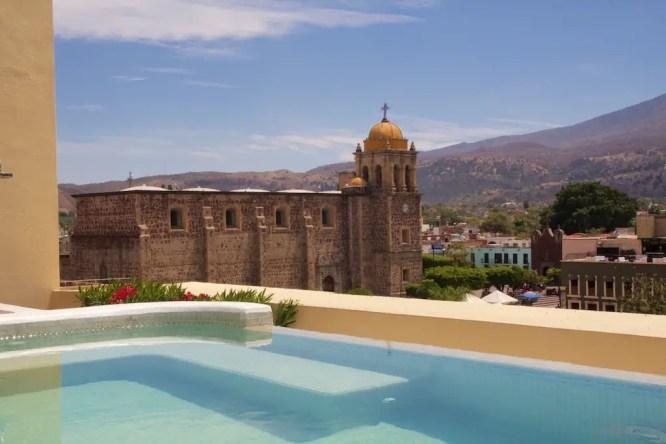 Rooftop of the Soler de las Animas Hotel
