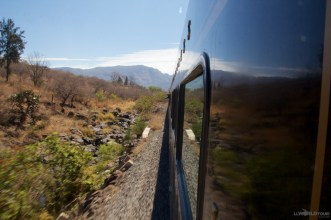 The views from the Jose Cuervo Express