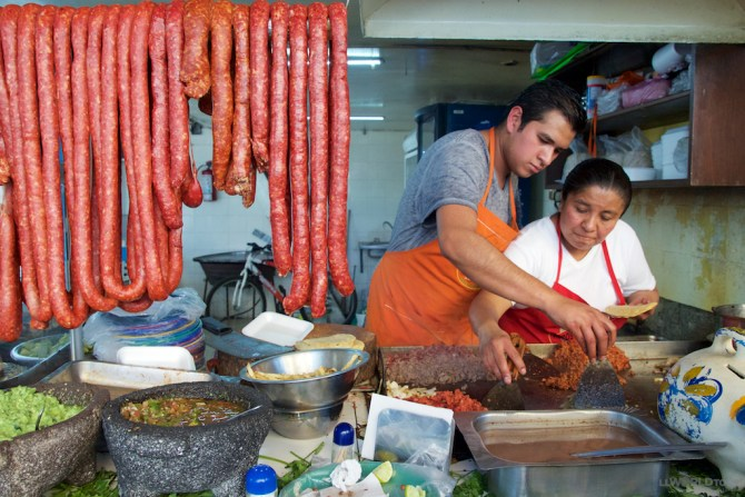Mexico City Street Food tour