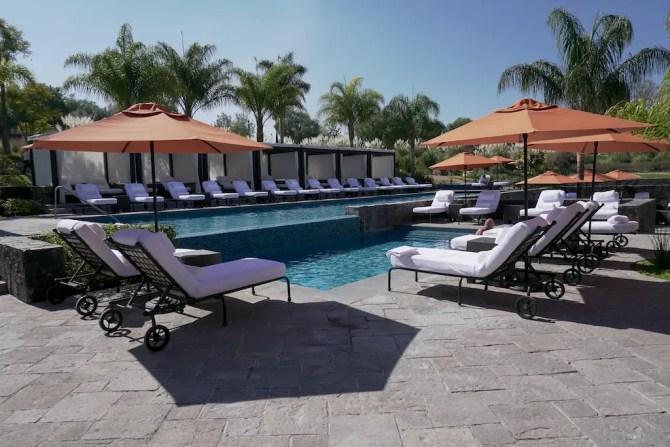 Pool at Rosewood Hotel