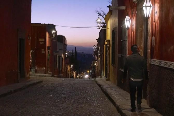 San Miguel Allende at Dusk