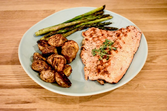 Seattle Grilled Salmon
