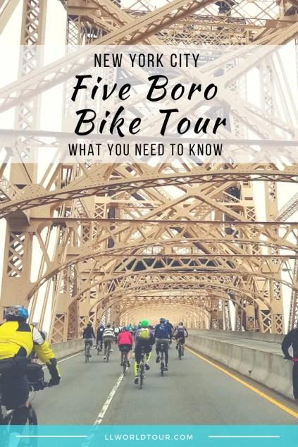 5 Boro Bike Tour tips