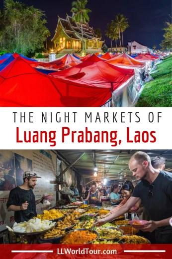 Night Markets of Luang Prabang