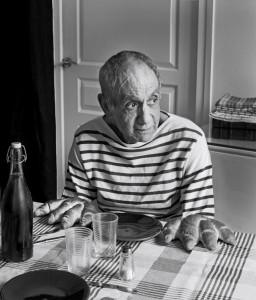 Hommage à Robert DOISNEAU, Les Pains de Picasso, 1952, Courtesy Galerie Thierry Bigaignon
