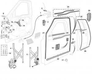 LMC Truck: Door Glass and Parts