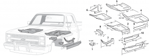 LMC Truck: Body Panels
