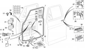 LMC Truck: Door Parts