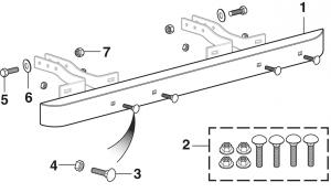 LMC Truck: Rear Bumpers