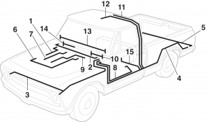 LMC Truck: Electrical Wiring Components