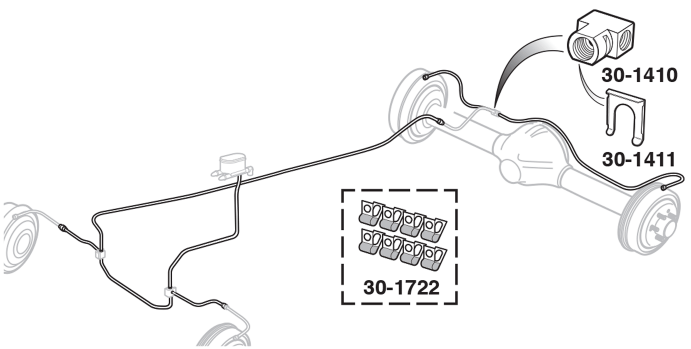 Pre-Bent Brake Line Kits