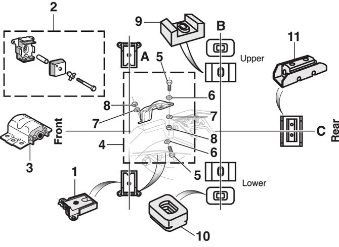 Engine and Transmission Mounts