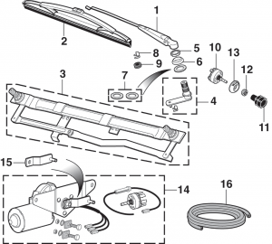 LMC Truck: Wiper Components
