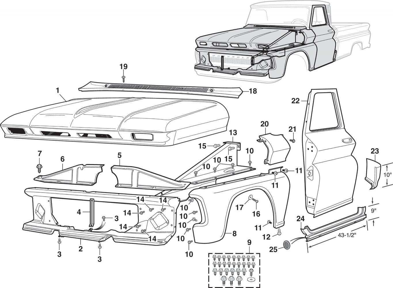 Wiring Diagram 65 Chevy C10 Lmc Truck