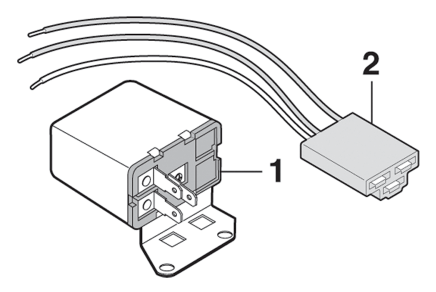 Horn Relay Switch