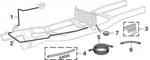 LMC Truck: Fuel Lines