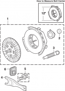 LMC Truck: Clutches and Components