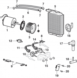 LMC Truck: Heater and AC Components