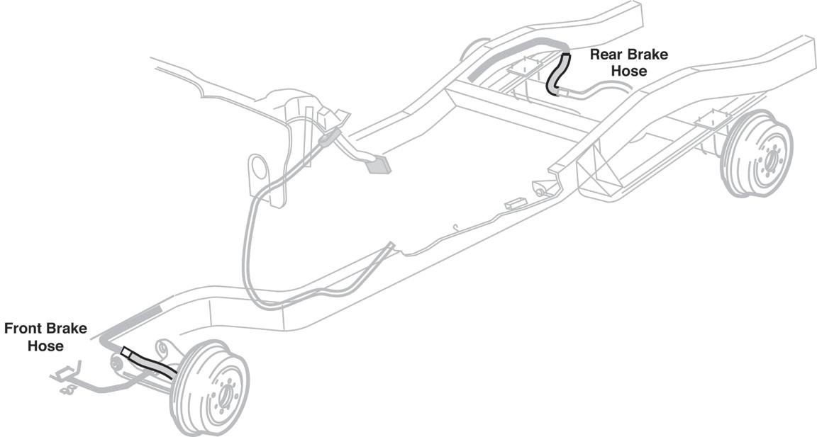 1973-89 Brake Hoses