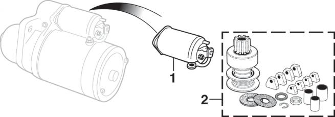 Starter Solenoids and Repair Kits