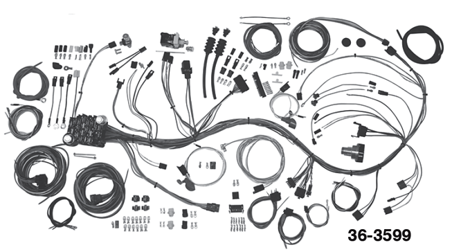 Wiring Harness Designed Specifically for Your Classic Truck