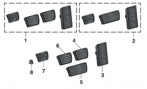 LMC Truck: Pedal Pads and Shift Boots