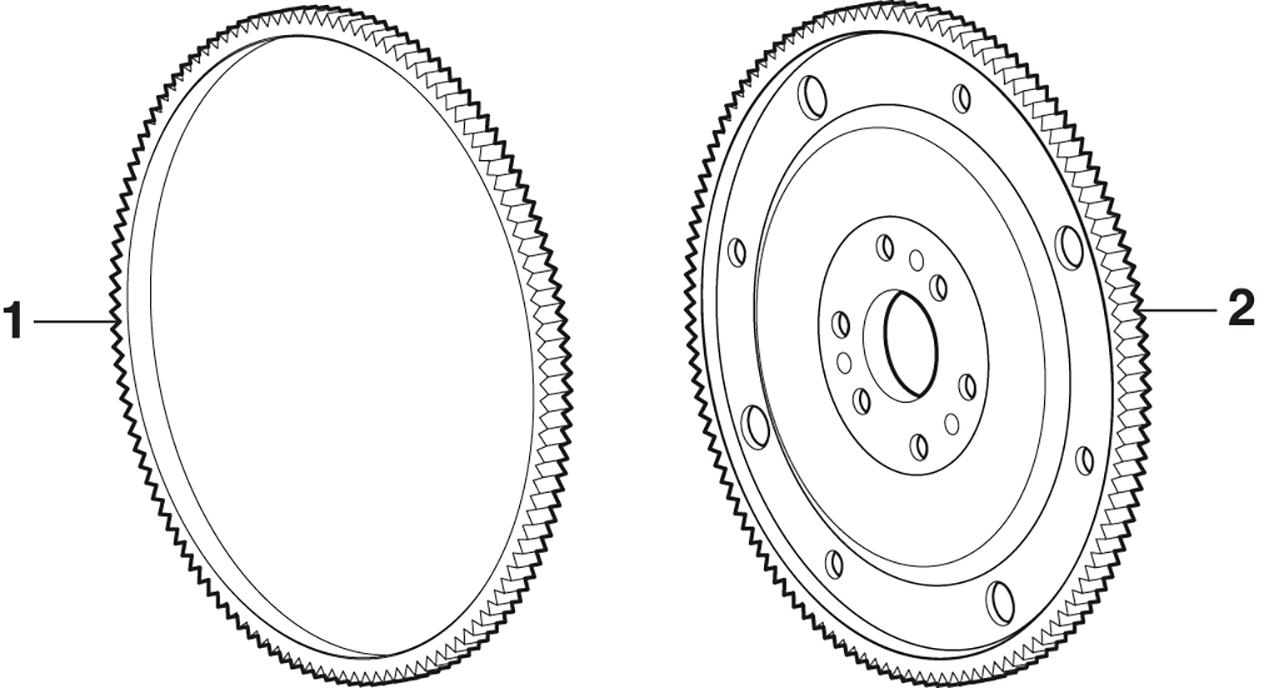 Flexplate, Flywheel and Ring Gear