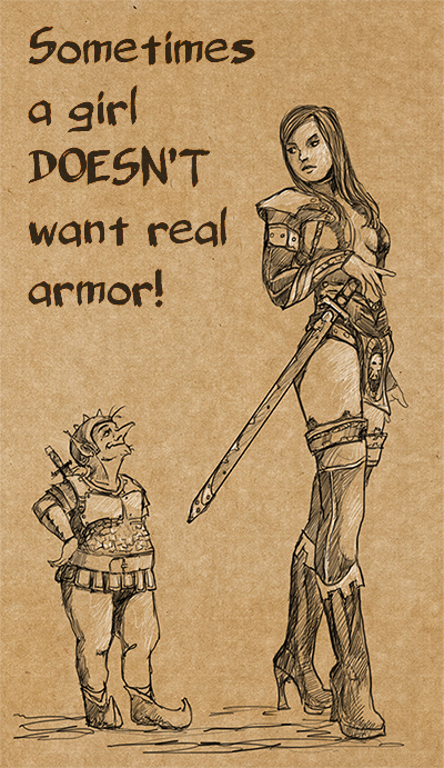 No real armor