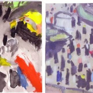 Scann des peintures réalisées