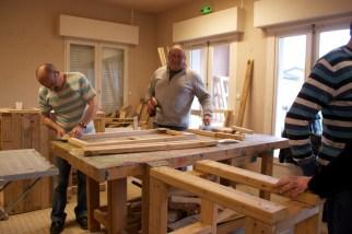 1.Réalisation des structures en bois à l'AGIÈS