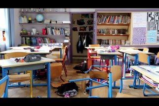 Disparition à l'école - photo tournage