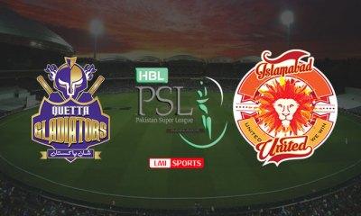 Quetta Gladiators vs Islamabad United Live Cricket Stream 20 Feb 2020