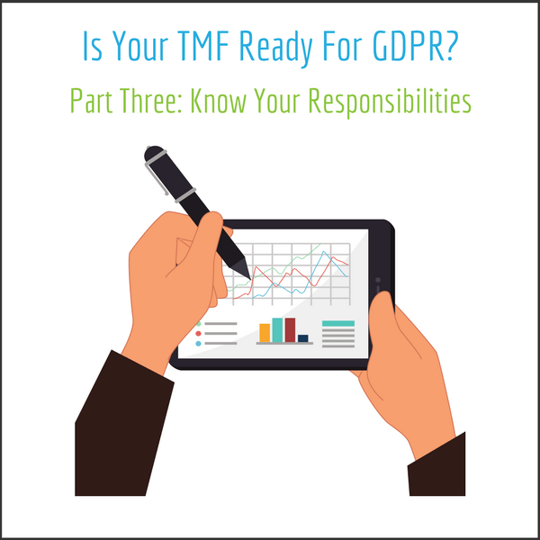 Is Your TMF Ready For GDPR? Part Three: Know Your Responsibilities - LMK Clinical Research. LLC
