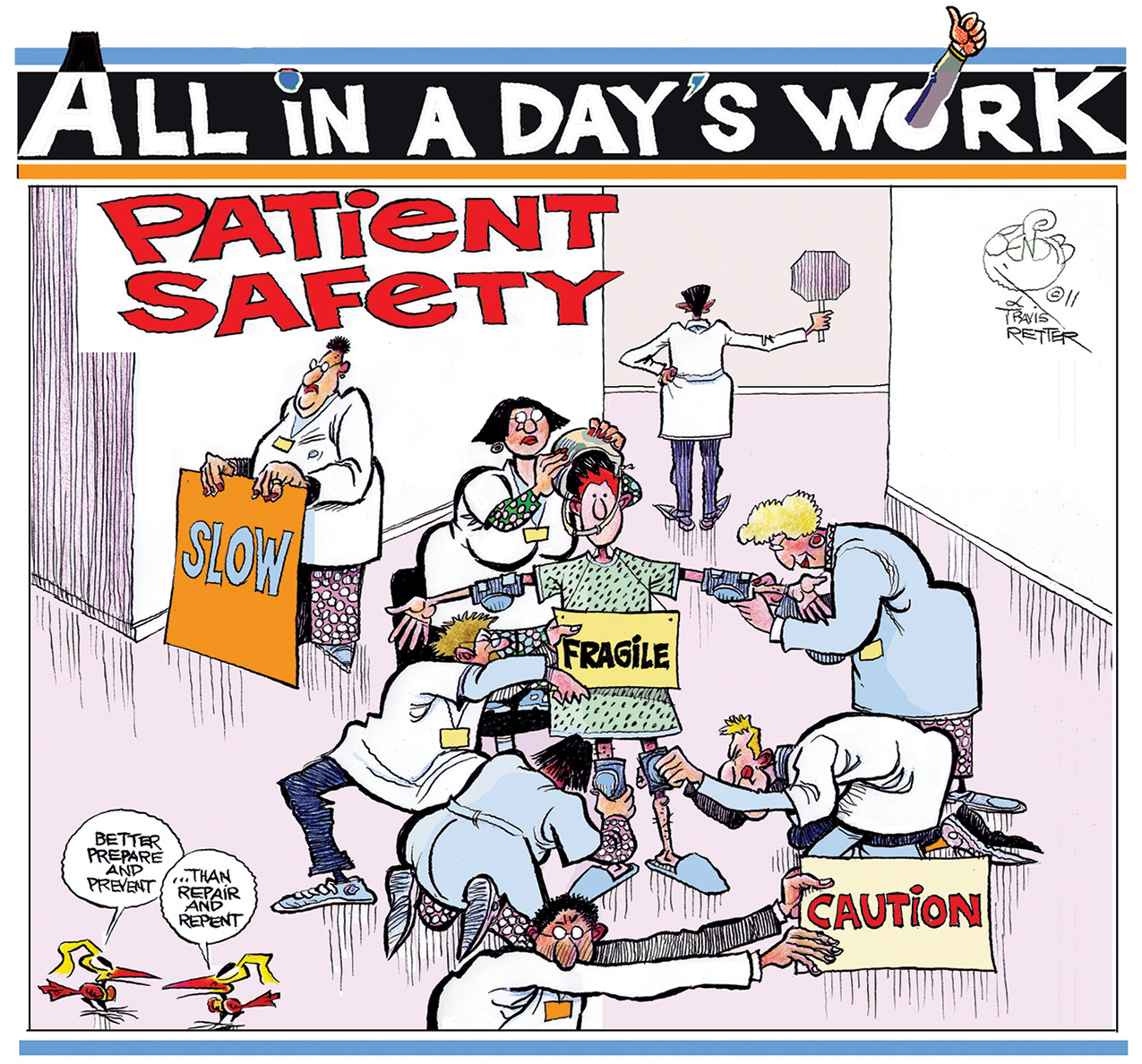 Art Clip National Safety Patient