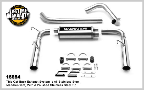 Magnaflow 15684: Exhaust System for Camaro 1998-2002 V8